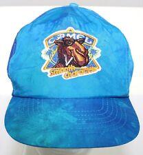 VTG 80s Joe Camel Smooth Character Camel Cigarettes Blue Tie Dye Nylon Hat Cap