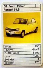 Art.Nr.451 Simca Rally 2 Flitzer Franz Quartett Einzelkarte