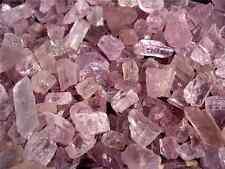 Kunzite pink Afghanistan mixed gem grade natural  1/2 ounce lot 3-8 pieces