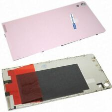 For Huawei Ascend P6 Battery Cover Rear Glass Panel Replacement Camera Lens Pink