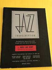 Jazz Transcription, Niels Lan Doky