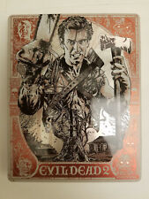 Evil Dead 2 4K Import Out-of-Print STEELBOOK UHD 4K+2x Blu-ray (3 disc set, NEW)