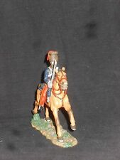 KING AND COUNTRY CRIMEAN WAR CRW23 MOUNTED 11TH HUSSAR CHARGING.