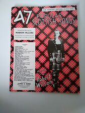 47 Popular Scottish Songs Concert Edition Second Series Marion McLurg Music Book