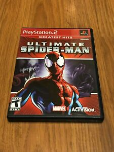 Ultimate Spider-Man (Sony PlayStation 2, 2005) Complete!