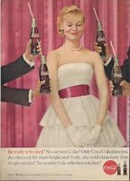 1960 Vintage Ad Coke Coca Cola Be Really Refreshed