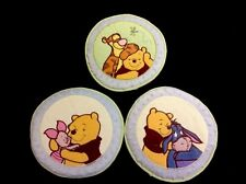 Set of 3 Winnie The Pooh Tigger Piglet & Eeyore Padded Plush Wall Hangers