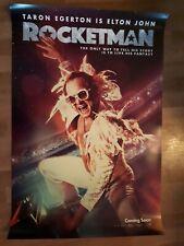 Rocket man cinema one sheet Poster full size ORIGINAL D/S Elton John Taron