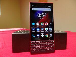 BlackBerry KEY2 LE - 64GB - RARE Atomic RED (Unlocked) (Dual SIM)