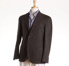 NWT $1125 BOGLIOLI Olive Green Twill Cotton 'K Jacket' 42 R (Eu 52) Sport Coat