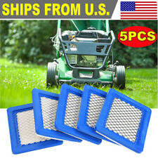 5 packs Lawn Mower Air Filter for Briggs and Stratton 491588 491588S 399959