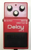 BOSS DM-3 Delay Guitar Effects Pedal made in Japan 1984 #4 Free Shipping