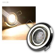 Ensemble LED laiton lampes encastrées 3 ampoules