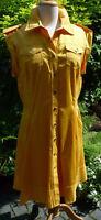 sehr schönes sportliches Kleid von KAREN MILLEN, Gr. 44, Farbe Gelb