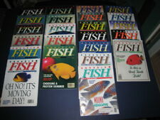 AQUARIUM FISH MAGAZINE Lot of 23 from 1993 & 1994 Vintage, Great Condition, OOP
