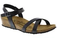 Birkenstock Papillio Alyssa Graceful Licorice Black sandal Narrow US 6  EU 37