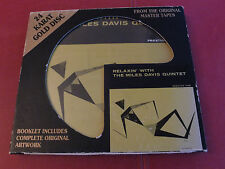 Miles Davis - Relaxin' with The Miles Davis  Quintet 24 Karat Gold Disc DCC Jazz