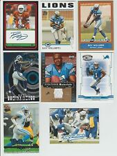 Roy Williams 2004 TOPPS CERTIFIED AUTOGRAPH TEXAS LONGHORNS ROOKIE CARD & OTHERS