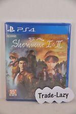 (NEW) PS4 Shenmue Shanmue I & II �ŽŽ�œ� 1 + 2 (HK, Chinese中�–‡/ English)