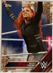 2016 Topps BECKY LYNCH #5 Bronze Border Parallel Rookie Card RC THE MAN