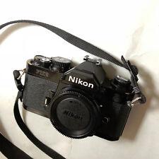 Nikon FM2n 35mm Film Camera/otturatore TITANIO (solo corpo)