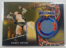 2018 Topps WWE Wrestlemania 33 Randy Orton Gold Mat Relic 1/10,  1/1 Rare!!!