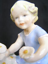 OFFER Vintage 1954 Royal Worcester Figurine May girl F Doughty china figure
