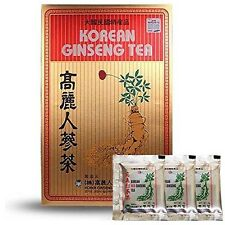 Original Korean Ginseng Tea 3g 100 Packets w/ Korean Red Ginseng Tea 3 Packets