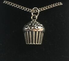 Cupcake Pendant Necklace (2)