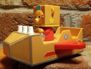 "2018 Daniel Tigers Neighborhood Cardboard Spaceship Pullback Car Toy 6"" Jakks dc"