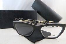 Prada VPR 14Q TFN-1O1 Grey/White Havana New Eyeglasses 53mm w/Box
