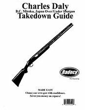 Charles Daly Over Under Shotguns Takedown Guide Radocy