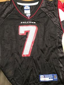 Michael Vick-Atlanta Falcons Boys/Youth Jersey-Black-Size Large 7-NWT-Reebok