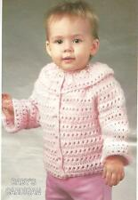 Baby's/ Toddler's Cardigan crochet PATTERN INSTRUCTIONS