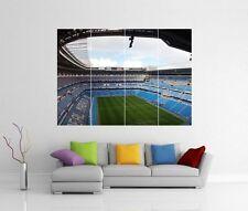 Real Madrid Santiago Bernabeu Gigante De Pared Art Print Imagen Foto Cartel j51