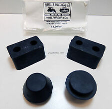 1928 1929 1930 1931 Model A Ford Rumble Seat Rubber Bumper Kit Coupe Roadster