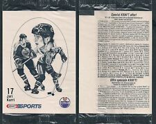 1986-87 Kraft Jari Kurri in Original Issue Cello Pack
