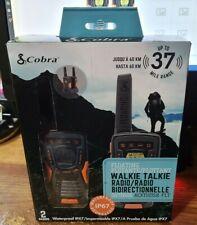 New Itb 37 Mile Cobra Acxt1035R Flt Two-Way Radios