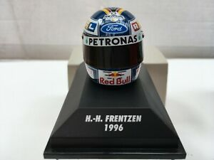 1:8 Minichamps 511389615 Heinz Harald Frentzen Arai Helmet - Sauber 1996