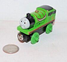 Thomas & Friends Wooden Railway Train Tank Engine - Percy w/ Streamers 2012 GUC
