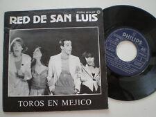"""RED DE SAN LUIS Toros En Mexico SPAIN 7"""" VINYL 1978 DISCO DE VINILO 45 RPM"""