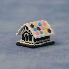 1:12 SCALA Ginger Bread house Casa delle Bambole Miniature DOLCI PASTICCERIA Accessorio 391