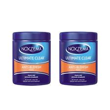 2 Pack Noxzema Ultimate Clear Anti-Blemish Pads 90 Each