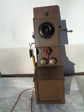 Telefon Wandtelefon Holz Siemens&Halske