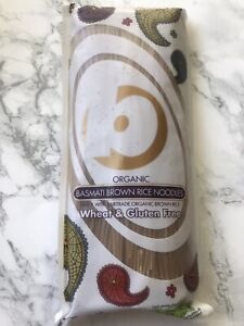 Basmati Brown Rice Noodles 250g Organic Noodles By King soba - Gluten Free