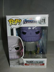 Funko Pop Marvel Avengers Endgame Thanos Gauntlet In The Garden Vinyl Figure-New