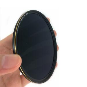 Glass ND64 Neutral Density Lens Filter for DSLR Camera Lenses 49 58 67 72 77 mm