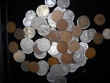 Vintage Coin Hoard 1 (ONE EACH) Indian Cent Buffalo Nickel V Nickel Mercury Dime