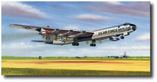 Six Turnin' and Four Burnin' (Artist Proof) by Mike Machat - Convair B-36