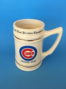 1984 East Division Champions Chicago Cubs Stein / Beer Mug w/Team Roster